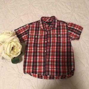 Toddler Boy Hilfiger Button Down Shirt